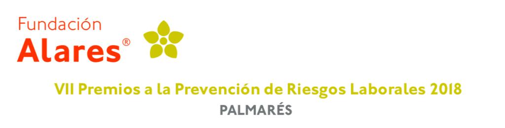 Palmarés Premios Alares 2018