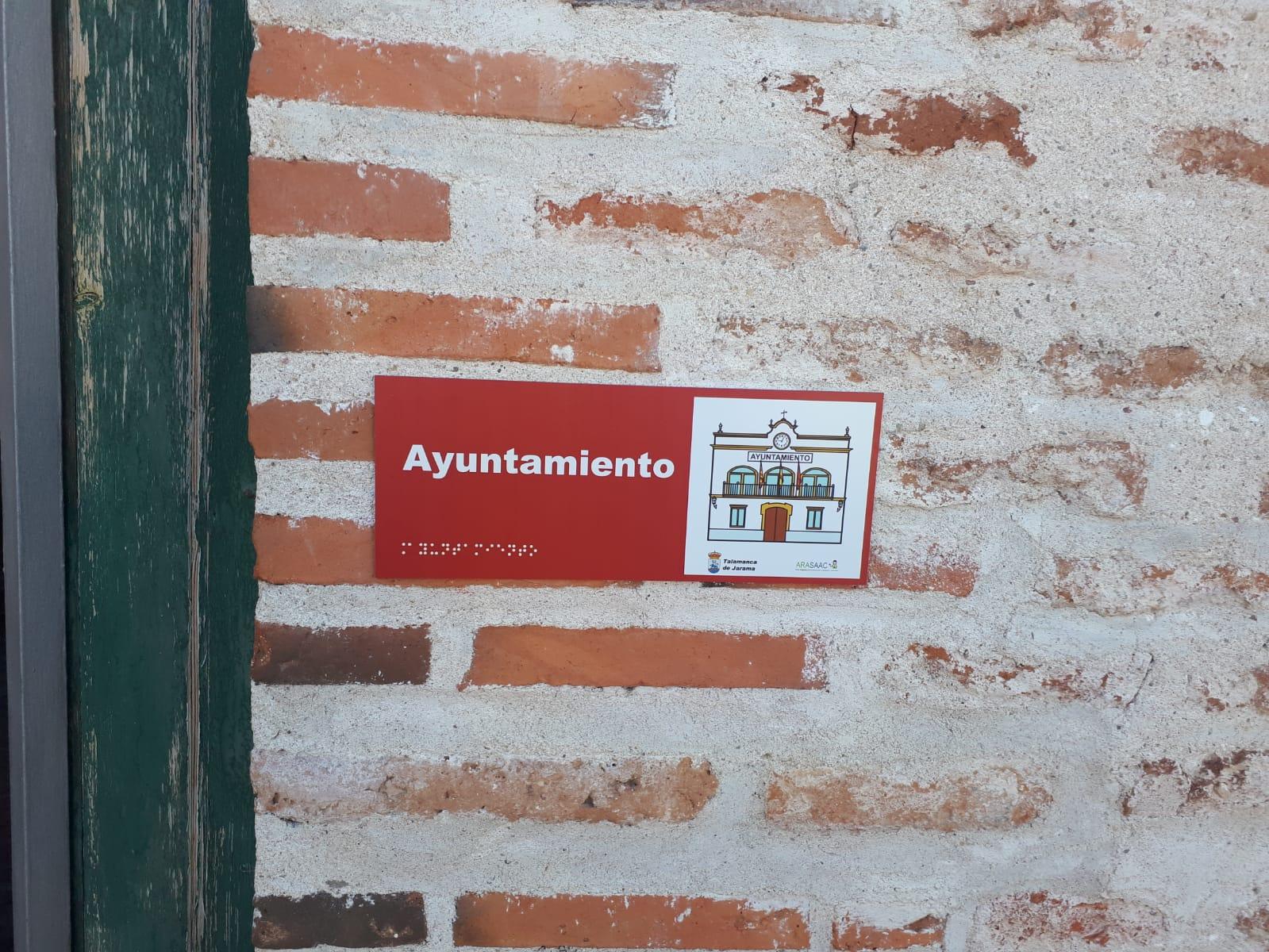 Accesibilidad en Talamanca de Jarama